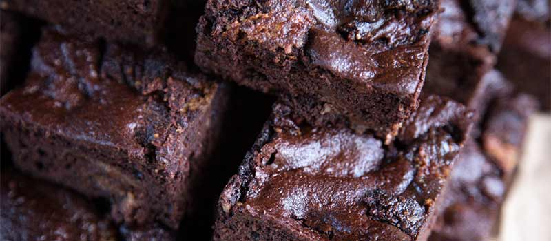 Mocha Fudge Protein Brownies