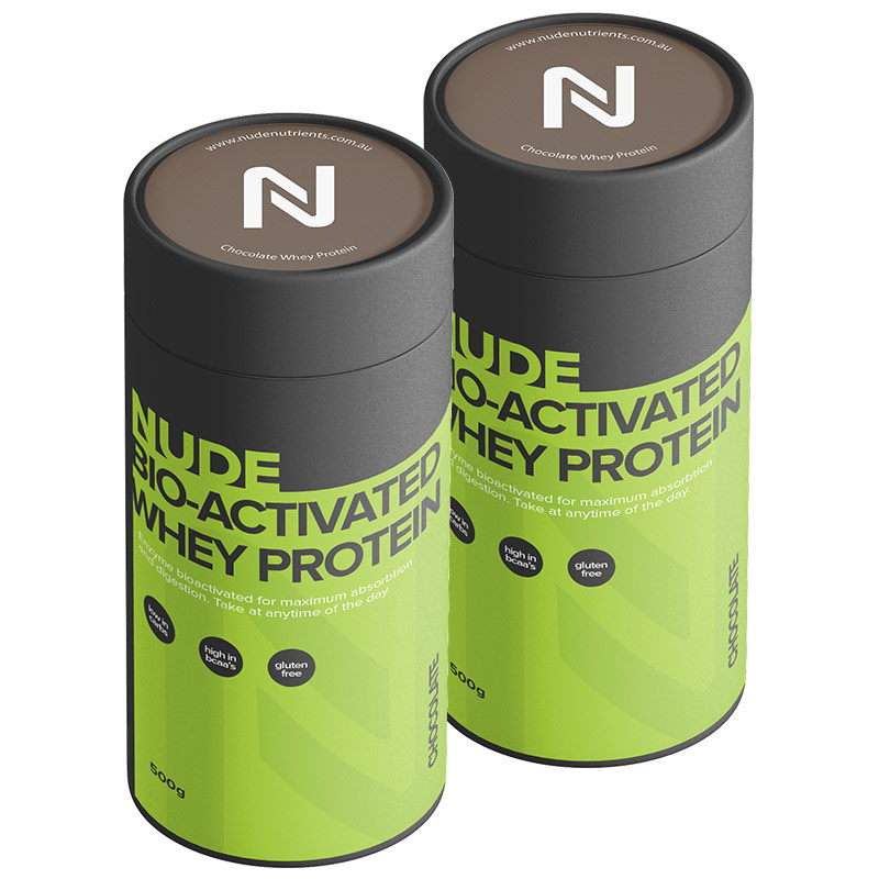 Nude Chocolate Whey Protein